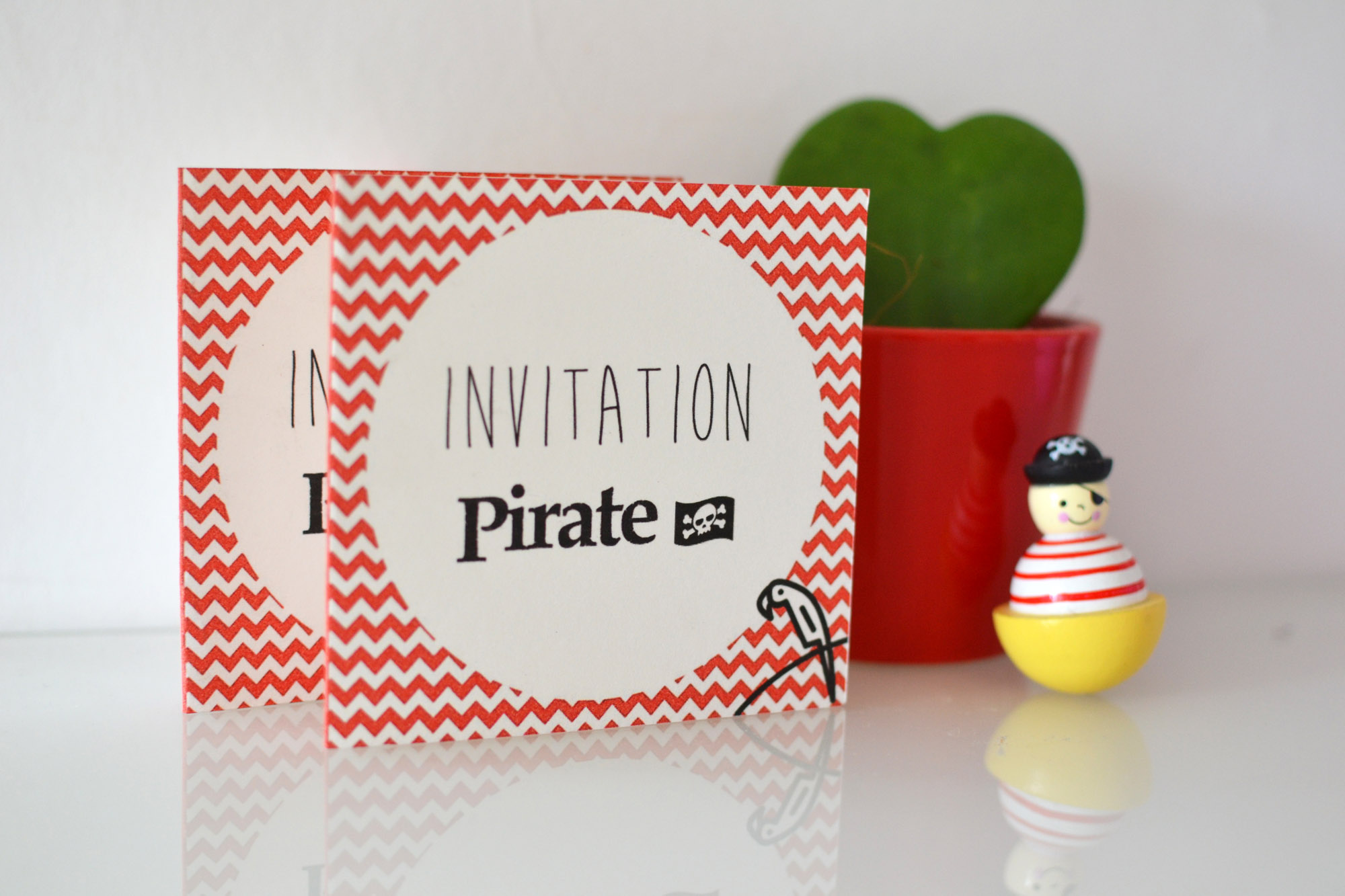 invitation pirate a imprimer