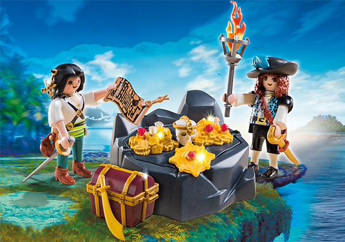 playmobil pirate et le trésor royal