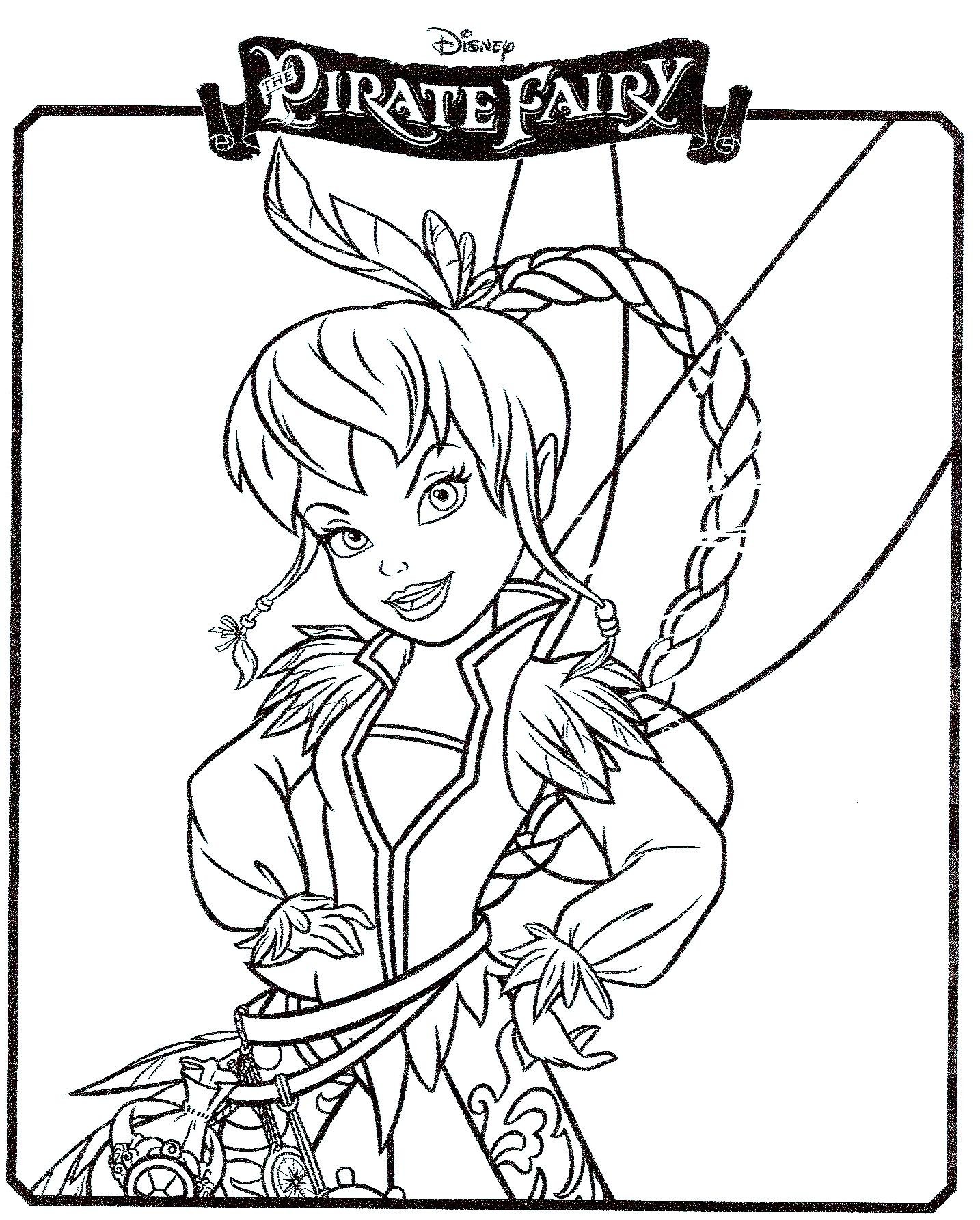 Coloriage pirate mon anniversaire pirate - Fee clochette gratuit ...