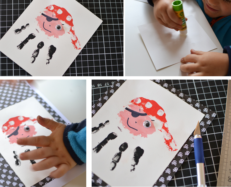 papier pirate scrapbooking