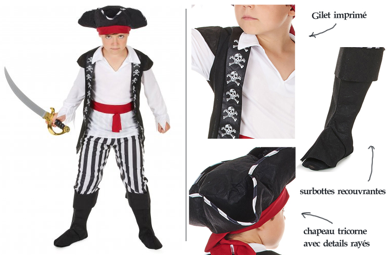 cotume pirate simple