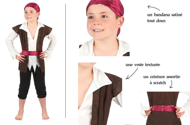 déguisement peter pan pirate