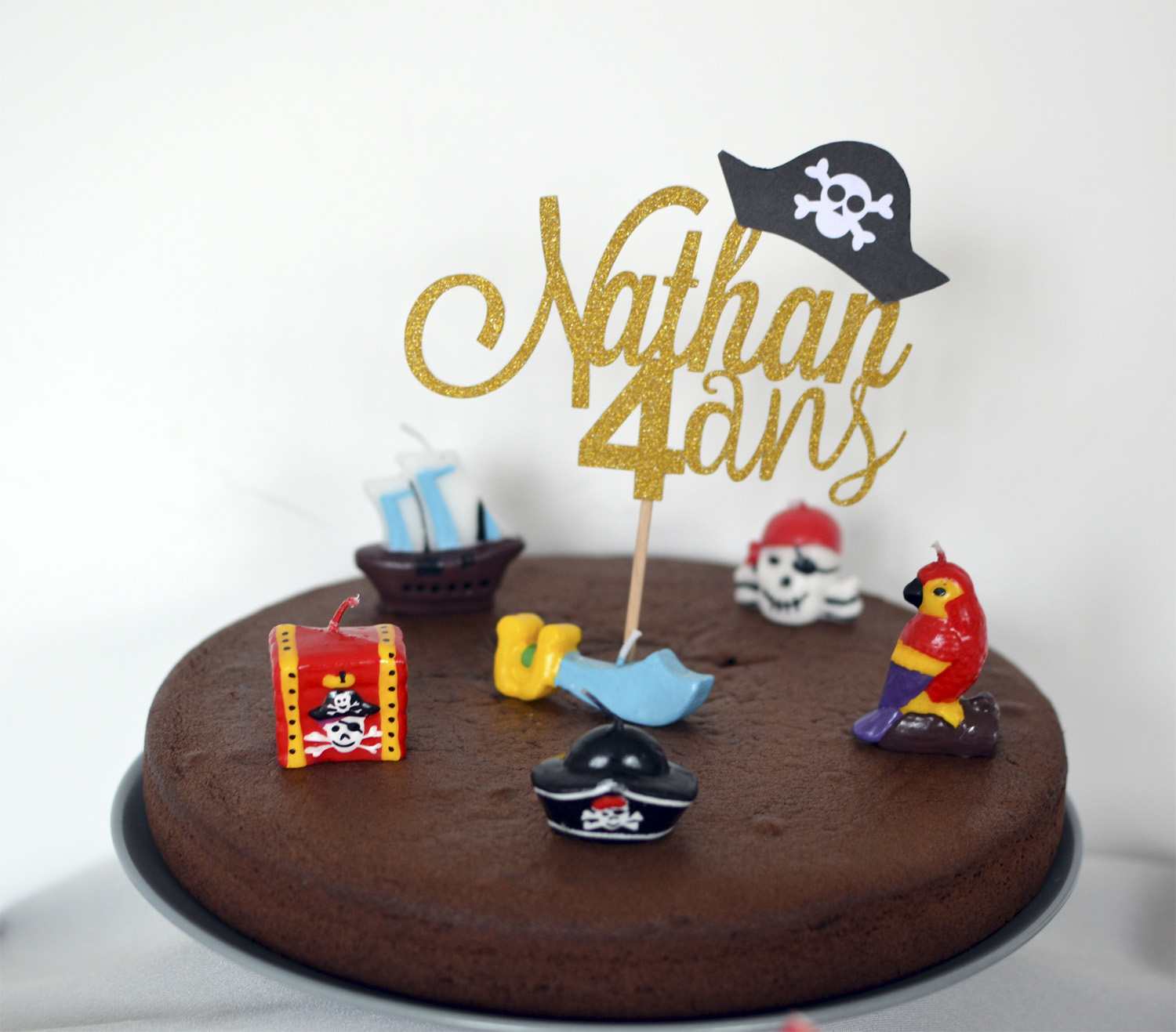 decoration de gateau pirate pas cher
