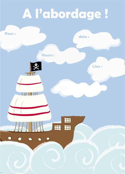 invit pirat cottage