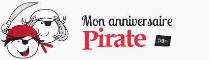Mon anniversaire pirate