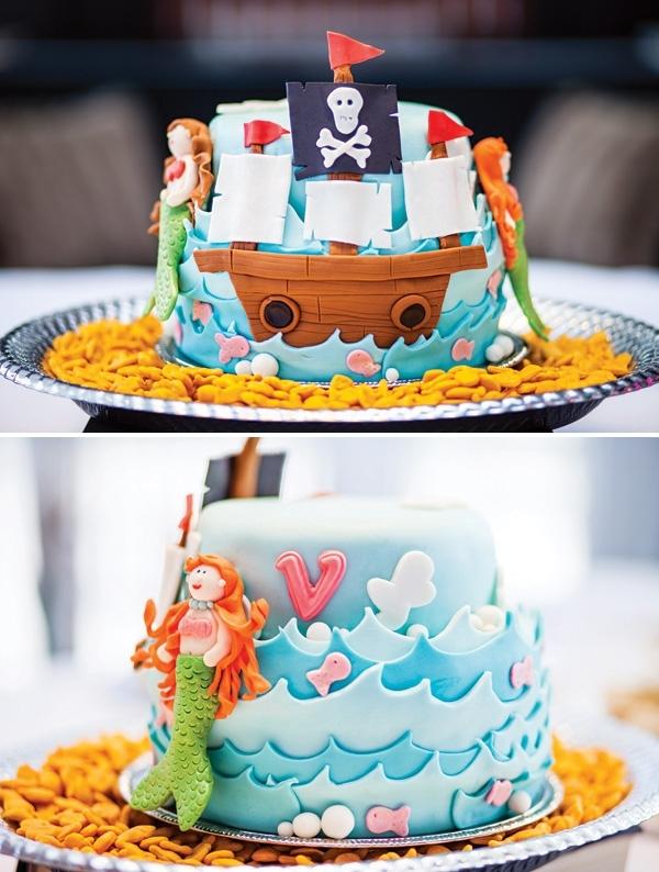 anniversaire pirate et sirenes