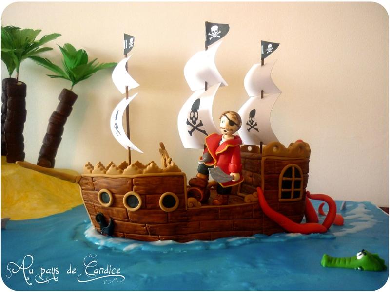 Gateau pirate - Au pays de Candice avec tuto et recette complete