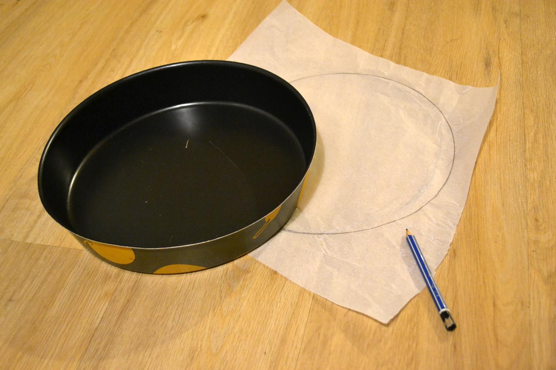 trace sur papier sulfurisé