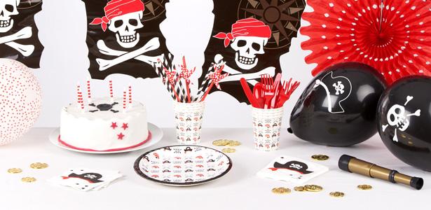 kit d'anniversaire pirate graphique