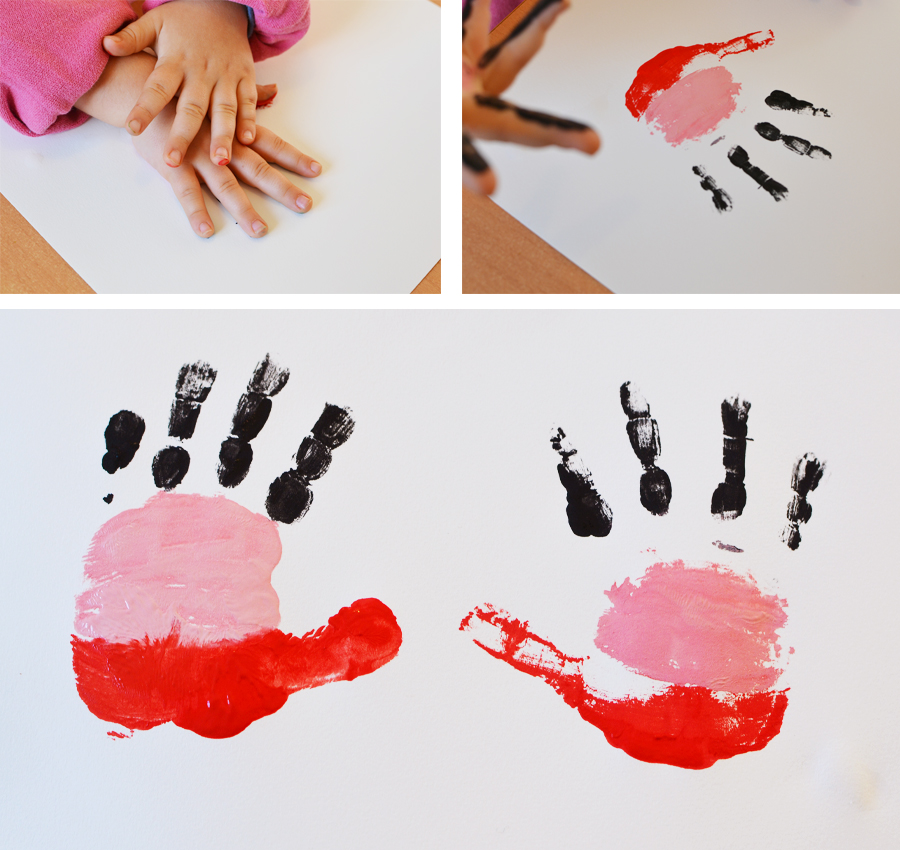 appliquer-la-peinture-sur-la-feuille-en-posant-sa-main-dessus