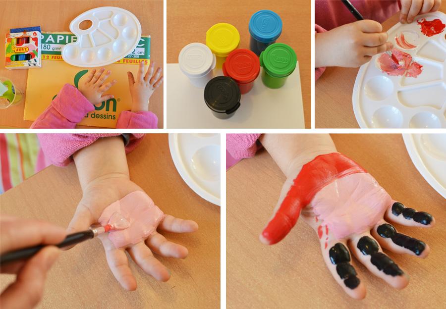 activite manuelle peinture a doigt
