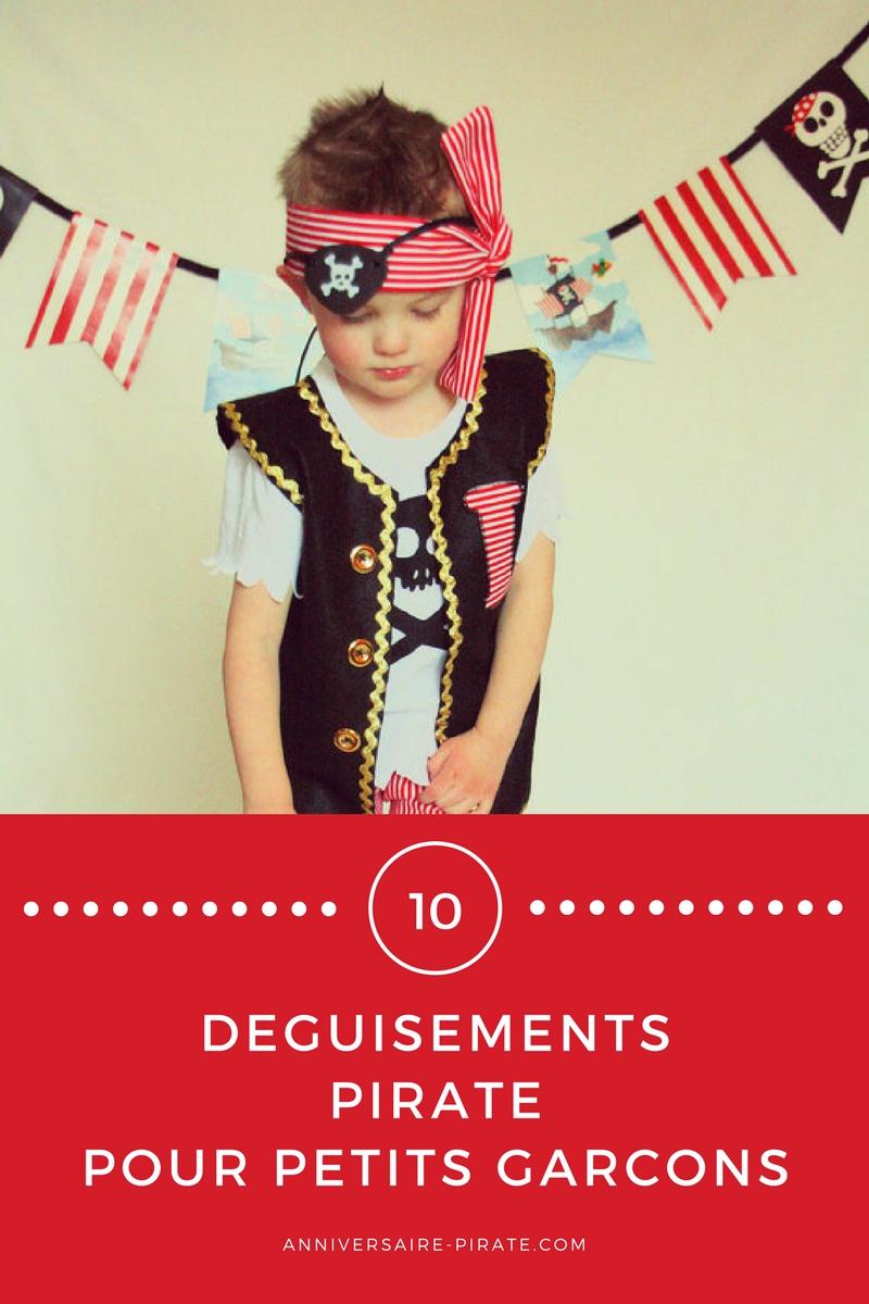 une sélection de jolis déguisements pas trop chers pour les petits garçons