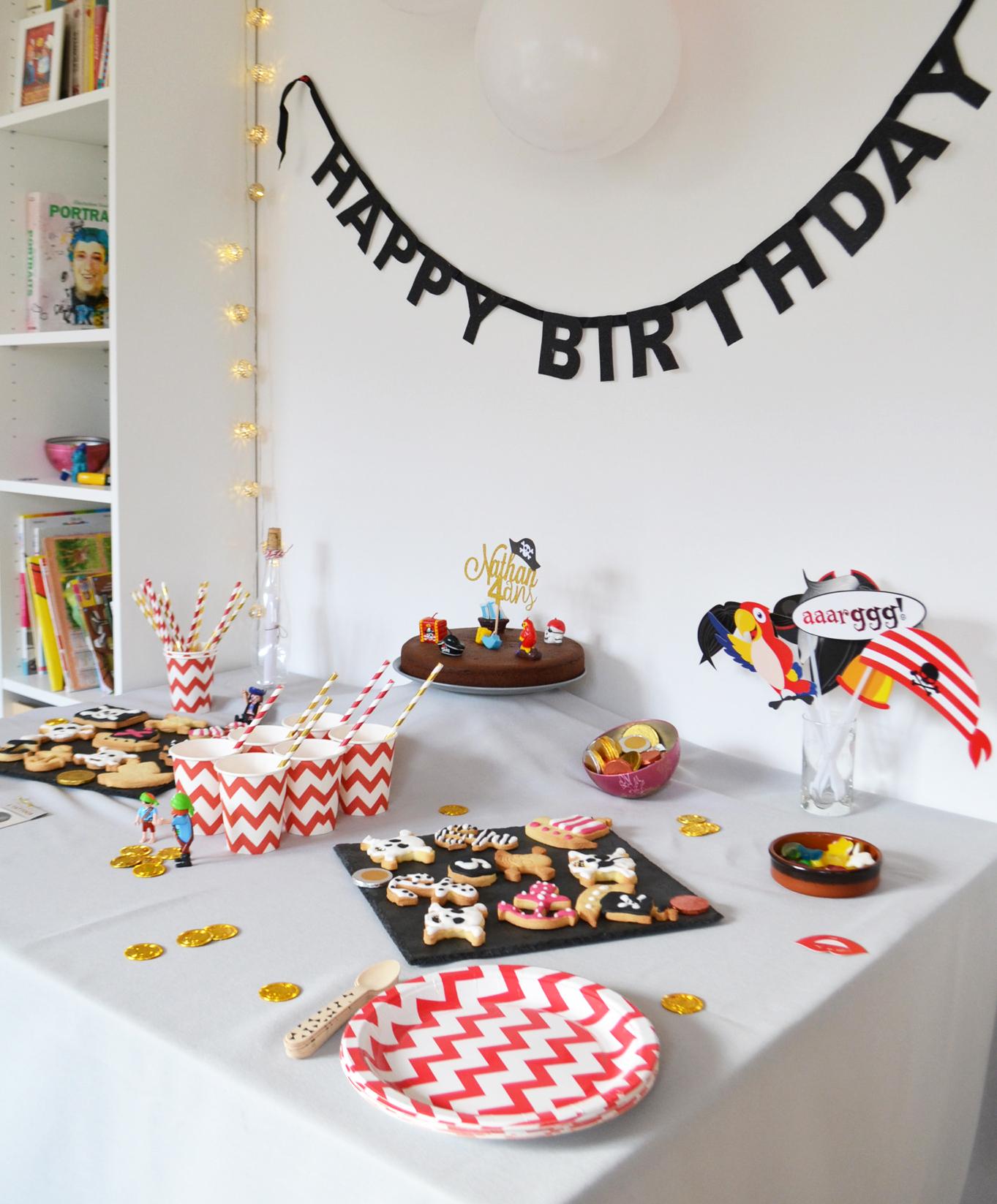 decoration anniversaire pirate a acheter