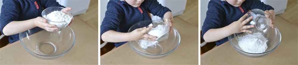 etape 1 recette des sables